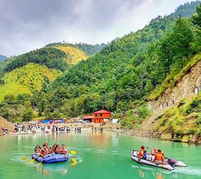 Boating Samundar Katha Lake