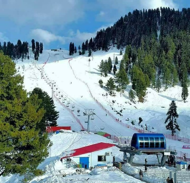 winter sports at swat Malam Jabba ski resort