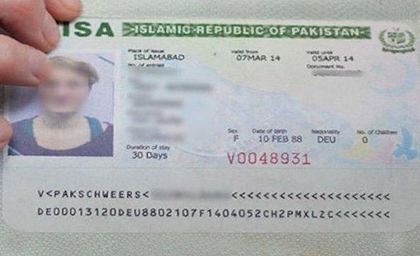 Pakistan visa
