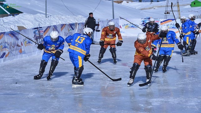 ice hockey in swat