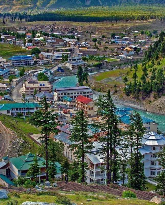 Kalam Valley - Kalam downtown bazar Swat