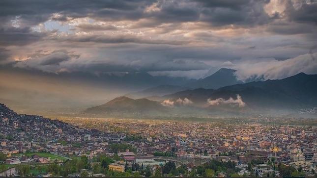 Mingora city in swat valley